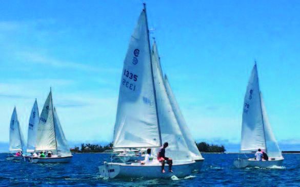 Blast from the Past, SF-Kaneohe Yacht Club Cal20 Team Race